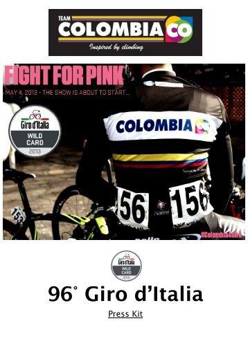 96° Giro d'Italia