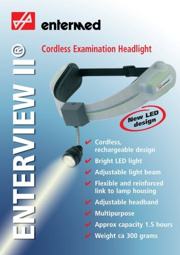 Cordless Examination Headlight