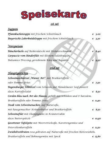 1st set Suppen Vorspeisen 2nd set Hauptgerichte - TC Rot-Blau ...