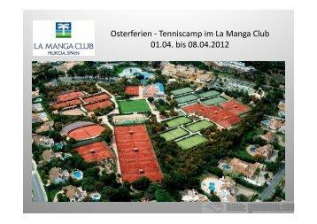 Tennis - Osterreise 2012 - TC Rot-Blau Regensburg