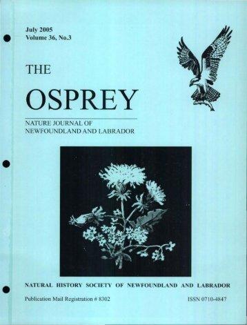 OSPREY - Memorial University of Newfoundland DAI