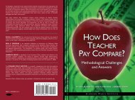 how does teacher pay compare? - Teachers College Columbia ...