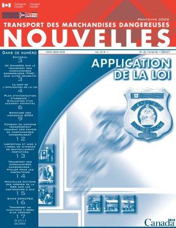 printemps 2005 (pdf) - Transports Canada
