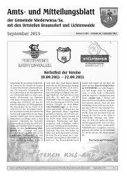 Amtsblatt September 2013