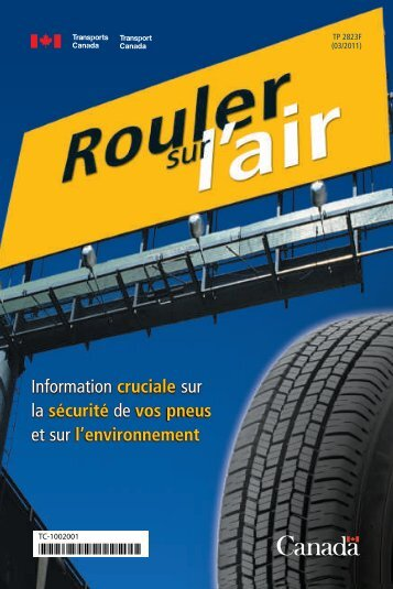 Rouler sur l'air - Transports Canada