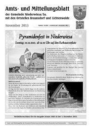 Amtsblatt November 2013