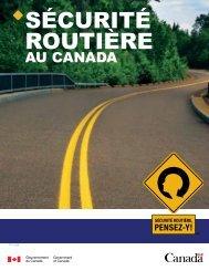 SÉCURITÉ ROUTIÈRE - Transports Canada