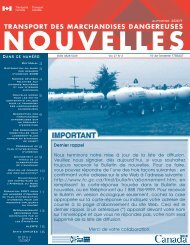 automne 2007 (pdf) - Transports Canada