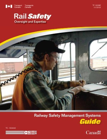 Guide for Developing, Implementing and Enhancing Railway Safety ...