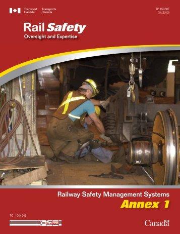 Annex 1: Best Practices - Transports Canada