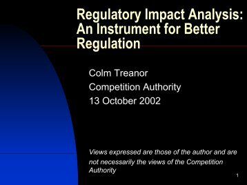 2002-10-13 Presentation (CT).pdf - The Competition Authority
