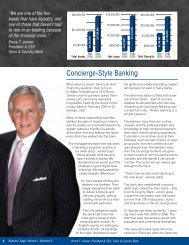Concierge-Style Banking - Town & Country Bank