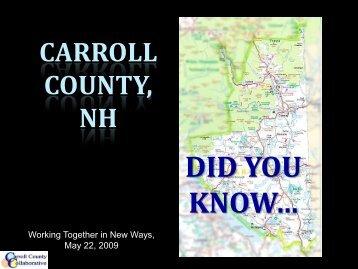 Carroll County, NH - Tri-County Community Action Program