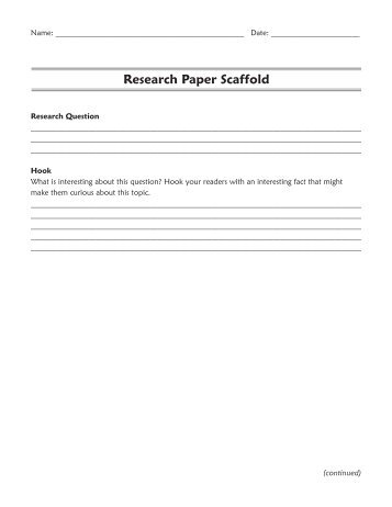 example of a research essay