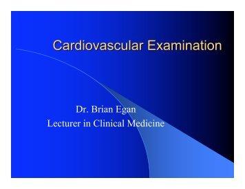 Cardiovascular Examination 2
