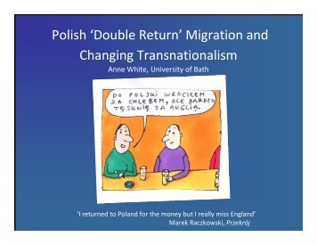 Polish 'Double Return' Migration and Changing Transnationalism