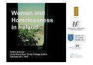 Women and Homelessne.. - Trinity College Dublin