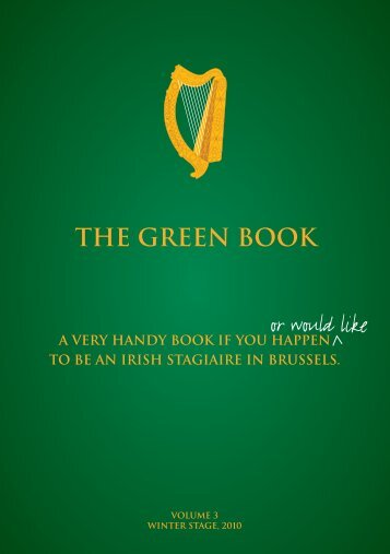 EU Green Book - Trinity College Dublin
