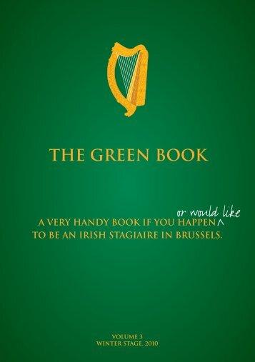 EU Green Book - Trinity College Dublin