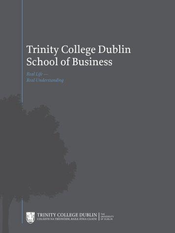 Campaign Booklet - Trinity College Dublin