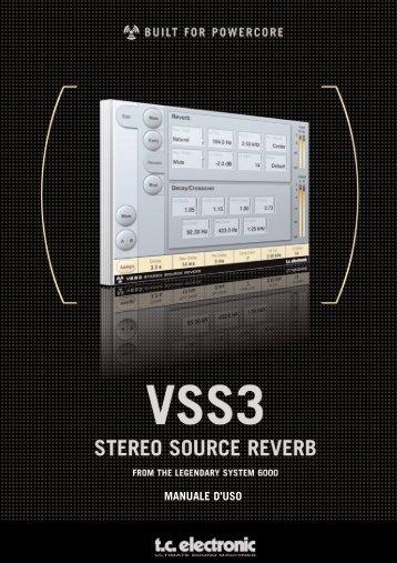 VSS 3_ITA.qxd - TC Electronic
