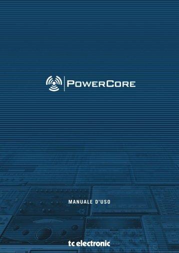 powercore - TC Electronic