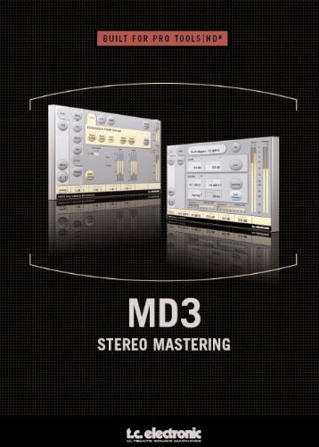 MD3 TDM Manual - TC Electronic