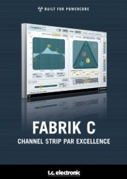 Fabrik C PowerCore Manual English - TC Electronic