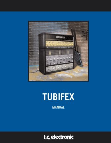 Tubifex PowerCore Manual English - TC Electronic