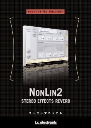 NonLin2 TDM Manual - TC Electronic
