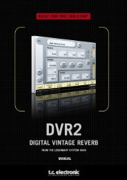DVR2 TDM Manual English - TC Electronic