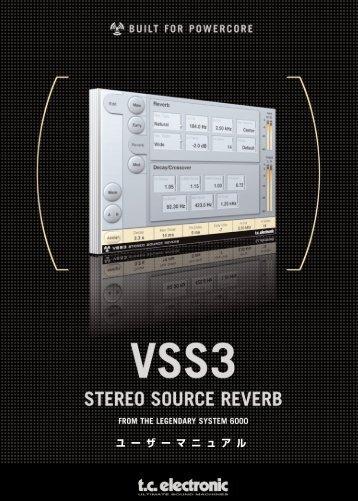 VSS3 Manual - TC Electronic