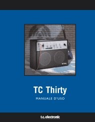TC Thirty - TC Electronic