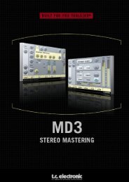 MD3 TDM Manual English - TC Electronic