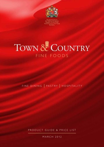 march 2012 product guide & price list fine - Town & Country Fine ...