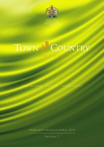 April 2013 - Town & Country Fine Foods
