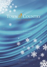 Christmas & New Year Product Guide 2012 - Town & Country Fine ...