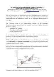 Skript_TC_I_Scheper_2013 - Institut für Technische Chemie