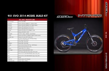 951 EVO 2014 MODEL BUILD KIT - DSB