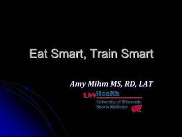 Eat Smart, Train Smart - ActiveBody.org