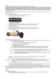 Questa garanzia è limitata alla riparazione o sostituzione del ... - DSB