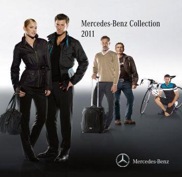 Le catalogue Mercedes-Benz Collection 2011