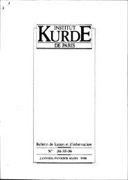 Le - Institut kurde de Paris