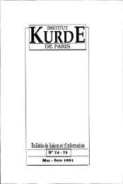 KËÎÏÏËE - Institut kurde de Paris