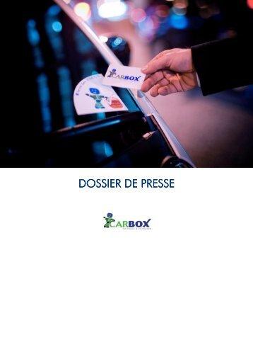 DOSSIER DE PRESSE