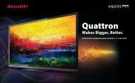 Quattron™ - Sharp