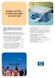 Fotoqualität hp psc 750 - AH Info Systeme