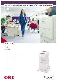 die neuen c7000 2-in-1-drucker für farbe und mono - AH Info Systeme