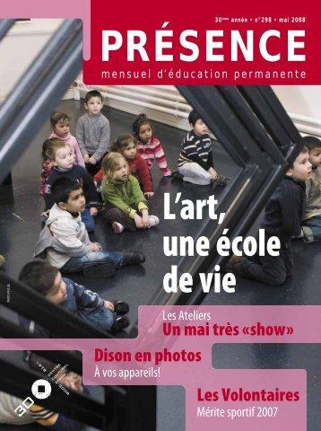 L'art, Une école De Vie - Centre culturel de Dison