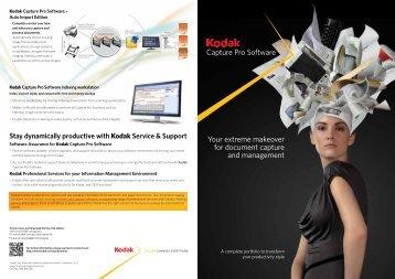 Kodak Capture Pro 4 Datasheet - DICOM